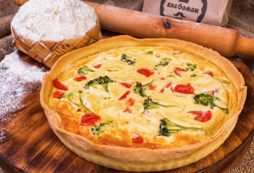 Сырные пироги: Киш овощной в Хлебоман