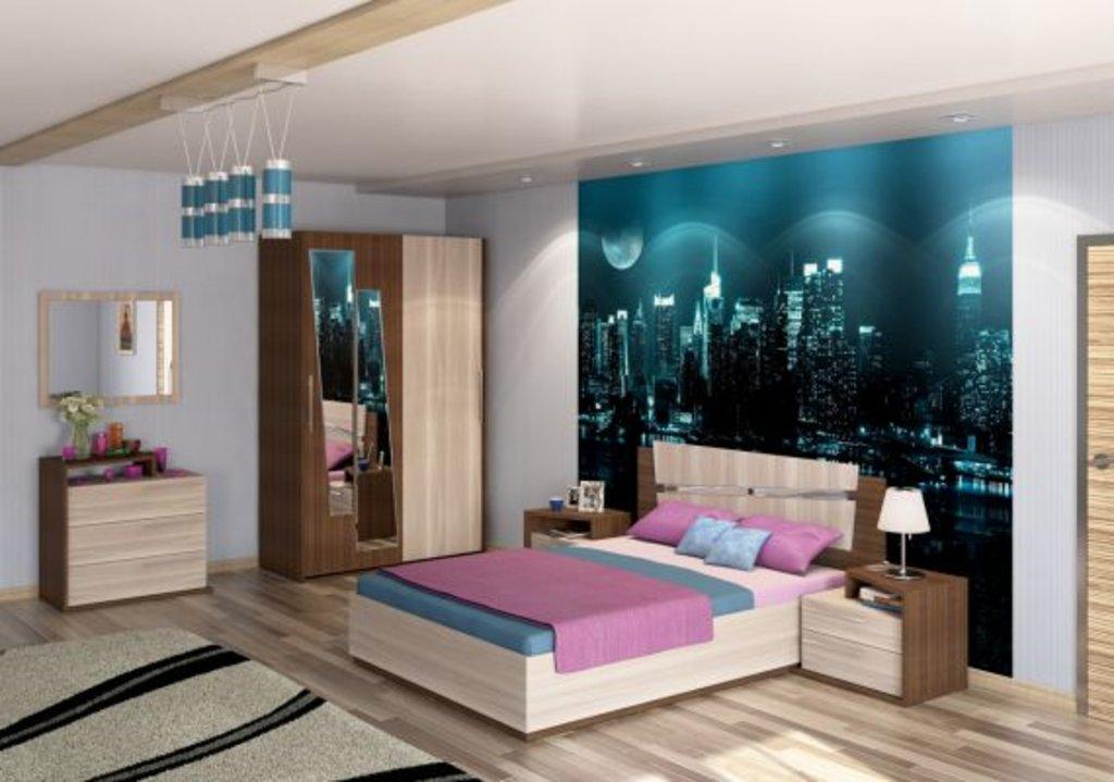 Мебель для спальных комнат, общее: Моника в Мебель ХИТ