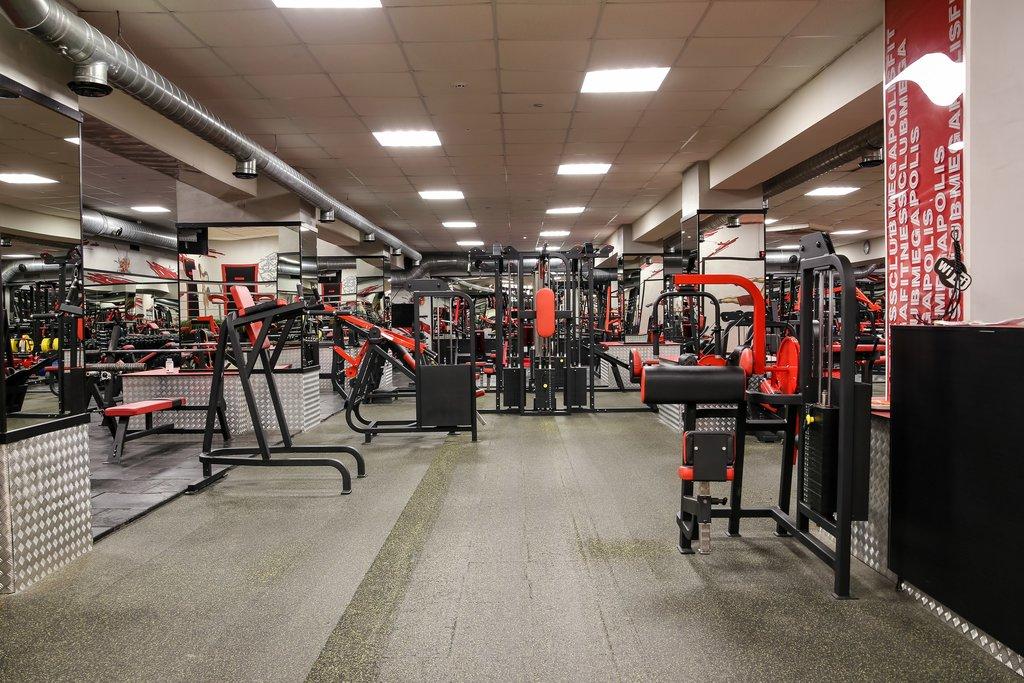 Тренажерный зал в Мегаполис, атлетический клуб, ИП Комаров