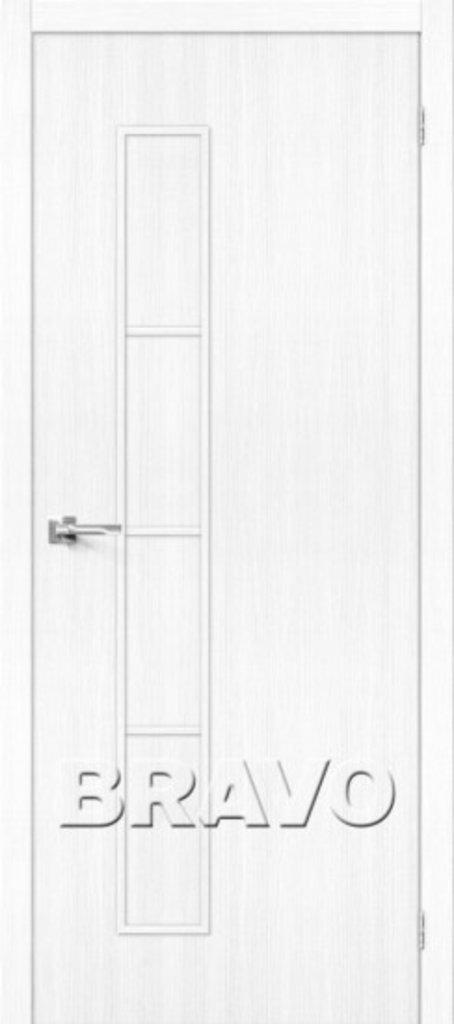 Двери экошпон BRAVO: Тренд-3  Snow Veralinga в STEKLOMASTER