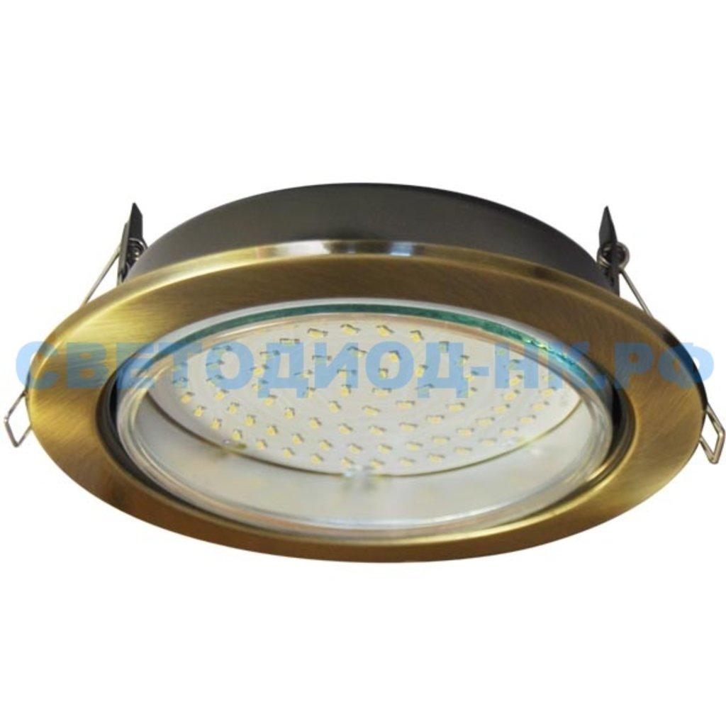 Светильники GX53, GX70: Ecola GX70 H5 св-к Черненая бронза 53x151 FN70H5ECB в СВЕТОВОД
