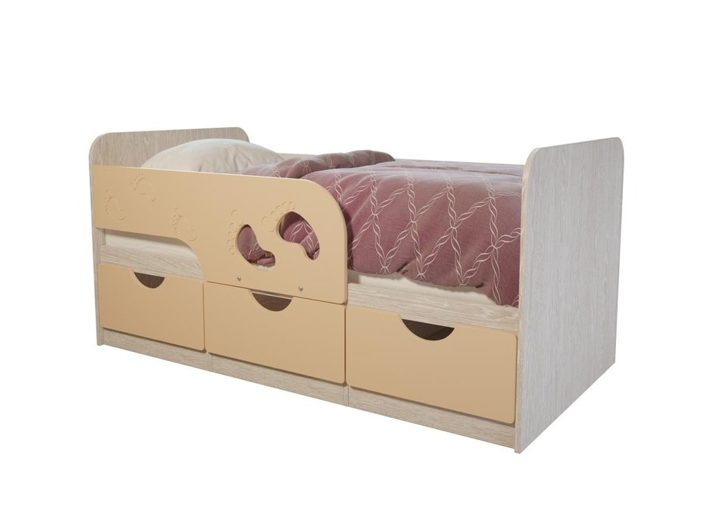 Детские: Кровать детская Минима (Крем-брюле) в Vesa