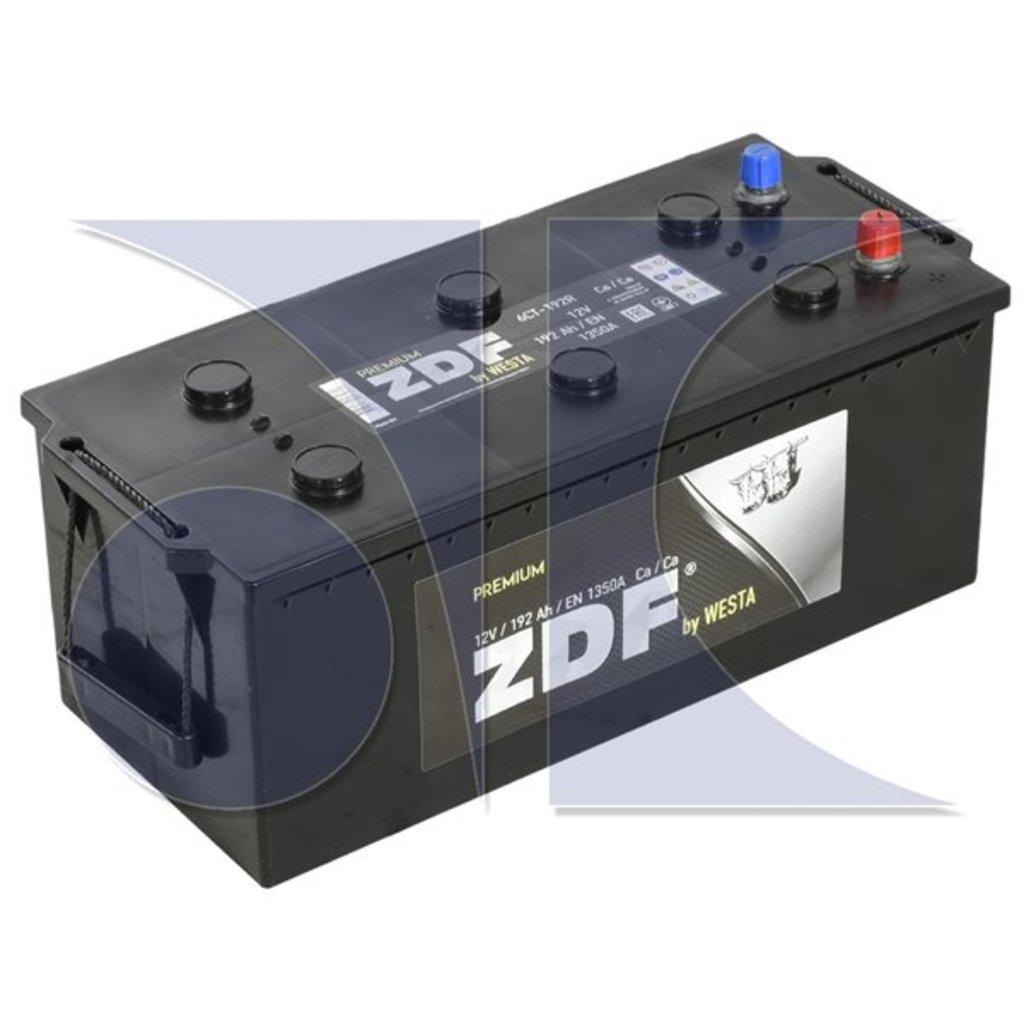 ZDF: ZDF Premium 12V 192 Ah в БазаАКБ