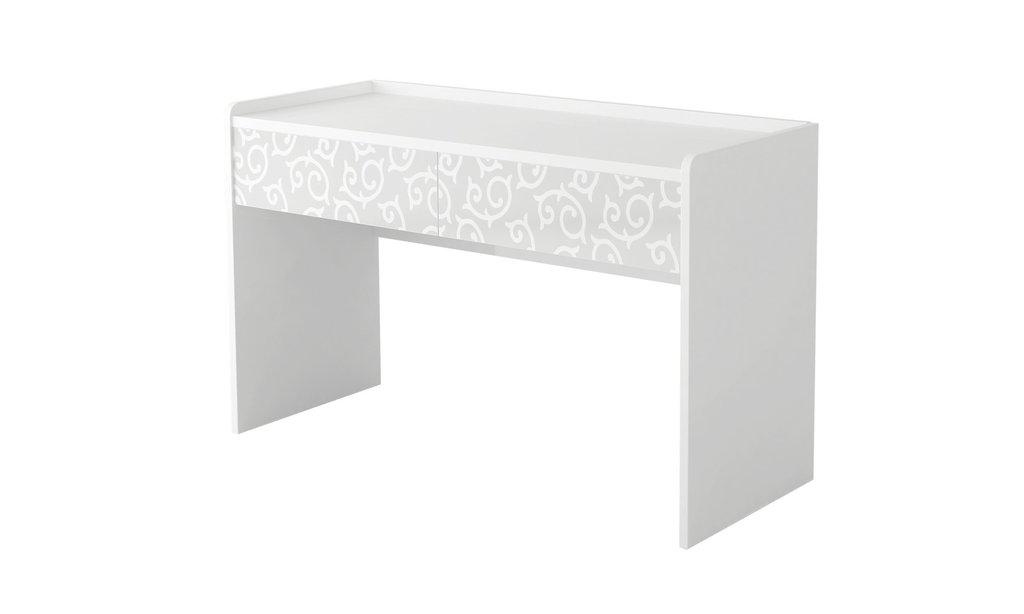 Туалетные столики и консоли: Стол туалетный Белла Вайт в Стильная мебель
