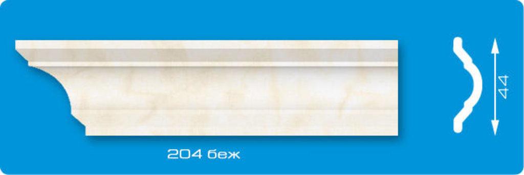 Плинтуса потолочные: Плинтус потолочный ЛАГОМ Ламинированный 204 беж экструзионный длина 2м в Мир Потолков