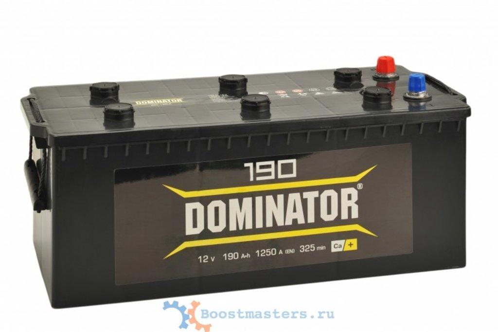 Dominator: Акб Dominator 190 А/ч в БазаАКБ