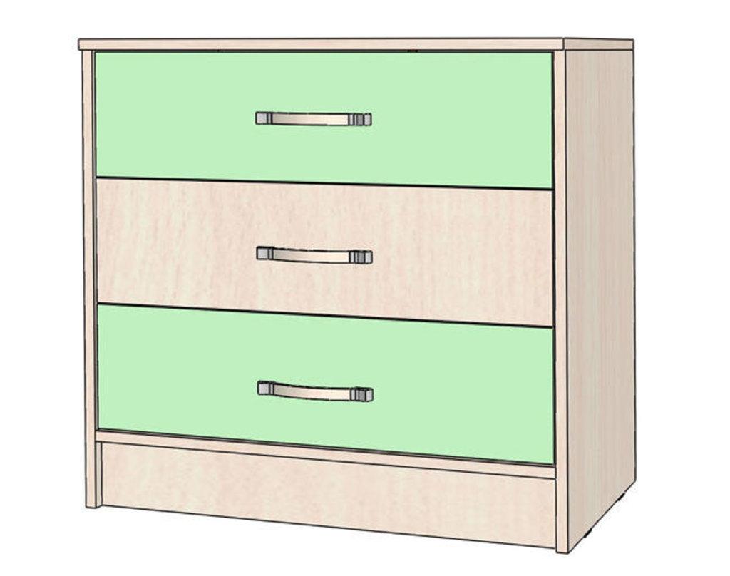 Мебель для детской Буратино. Модульная серия.: Комод Буратино в Уютный дом