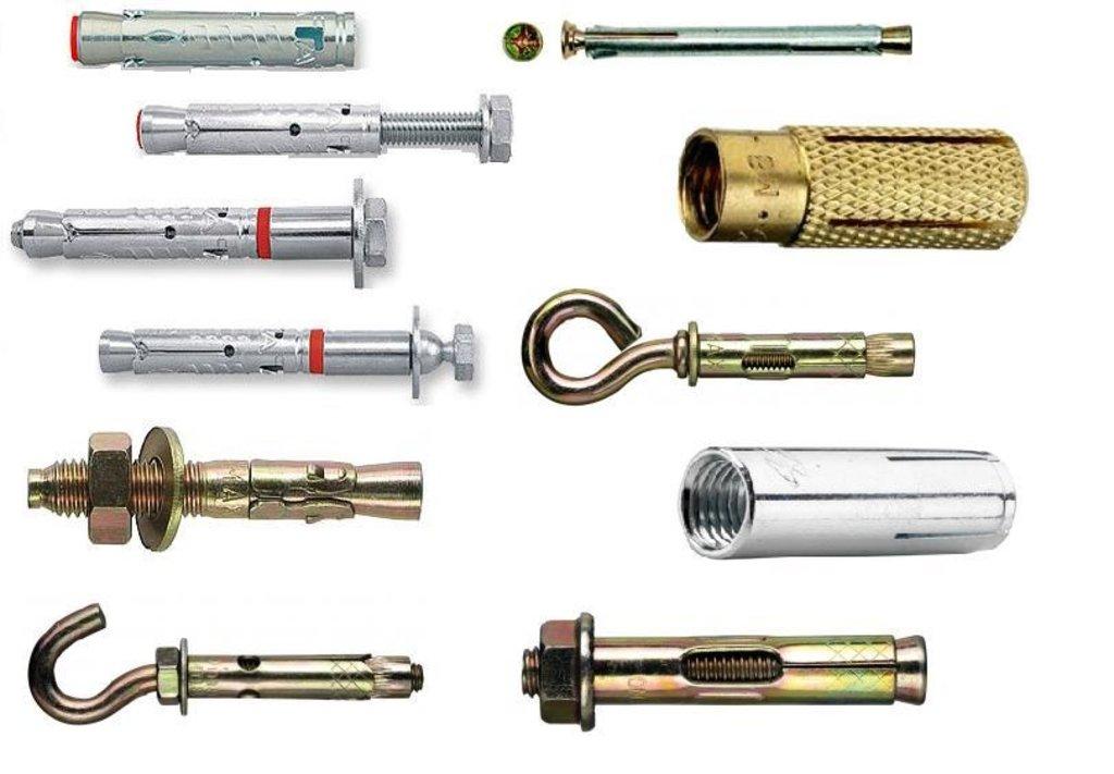 Крепежные изделия: Крепеж анкерный в Крепеж, Оптово-розничный склад крепежа