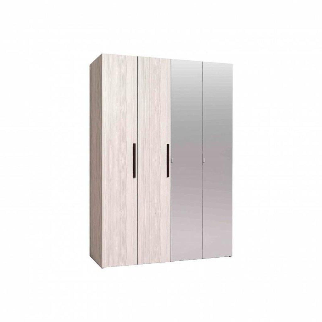 Шкафы для одежды и белья: Шкаф для одежды и белья Майя 555 в Стильная мебель
