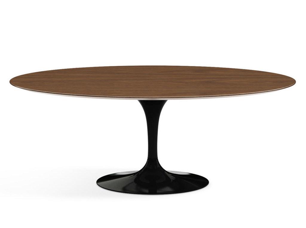 Столы обеденные: Стол обеденный Априори T овальный 110х180 15т орех в Актуальный дизайн