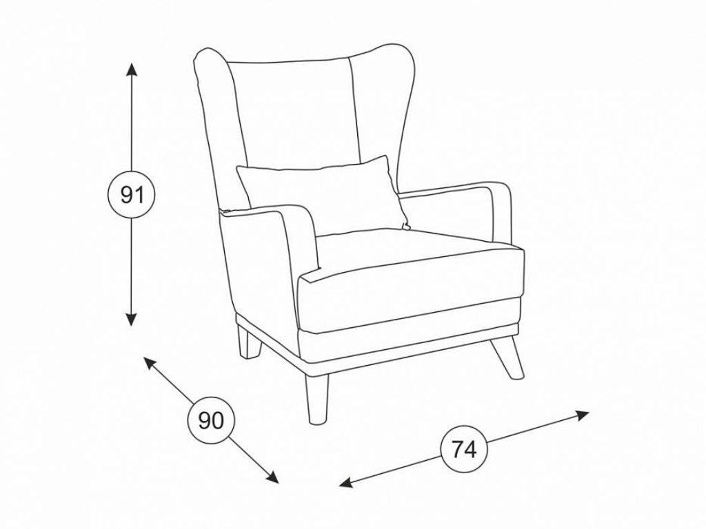 Кресла Оскар: Кресло Оскар ТК 316 в Диван Плюс