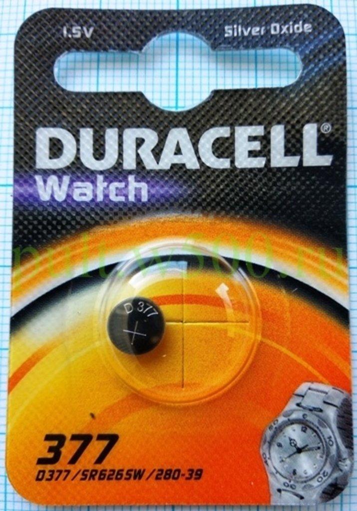 Батарейки.: Батарея Ч. AG 4, AG4, 377A, LR626 Duracell (1BL) в A-Центр Пульты ДУ
