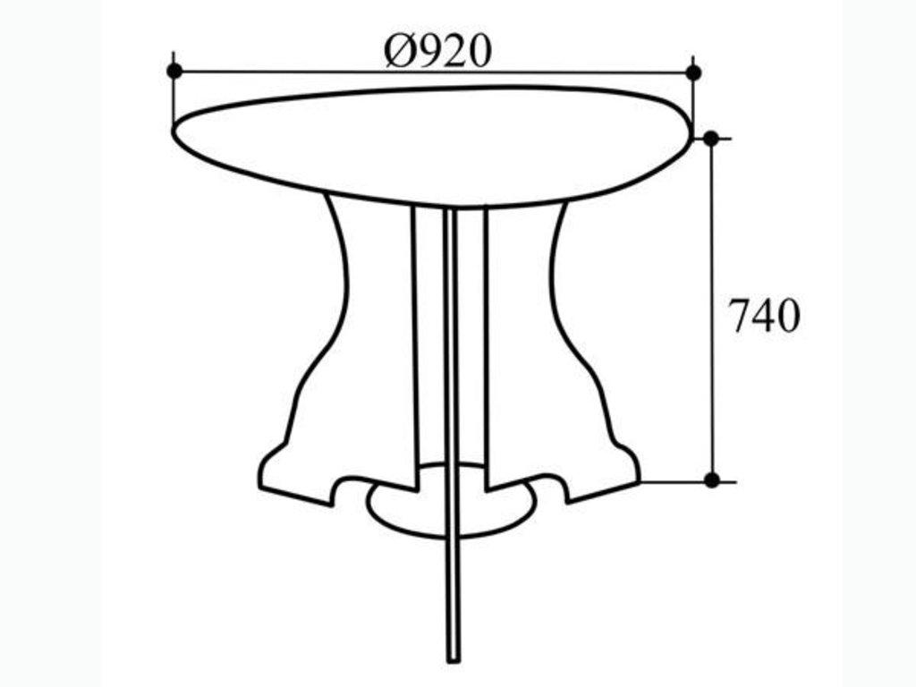 Столы обеденные: Стол обеденный СТ-1Л в Уютный дом