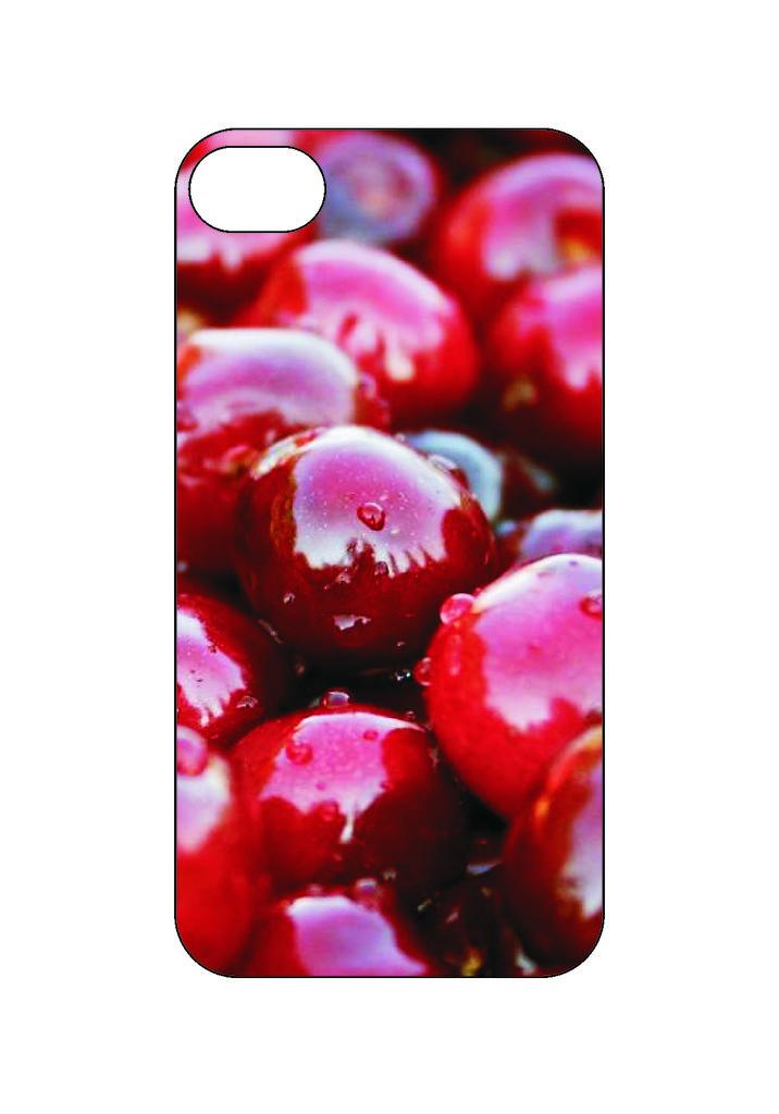 Выбери готовый дизайн для своей модели телефона: Cherry в NeoPlastic
