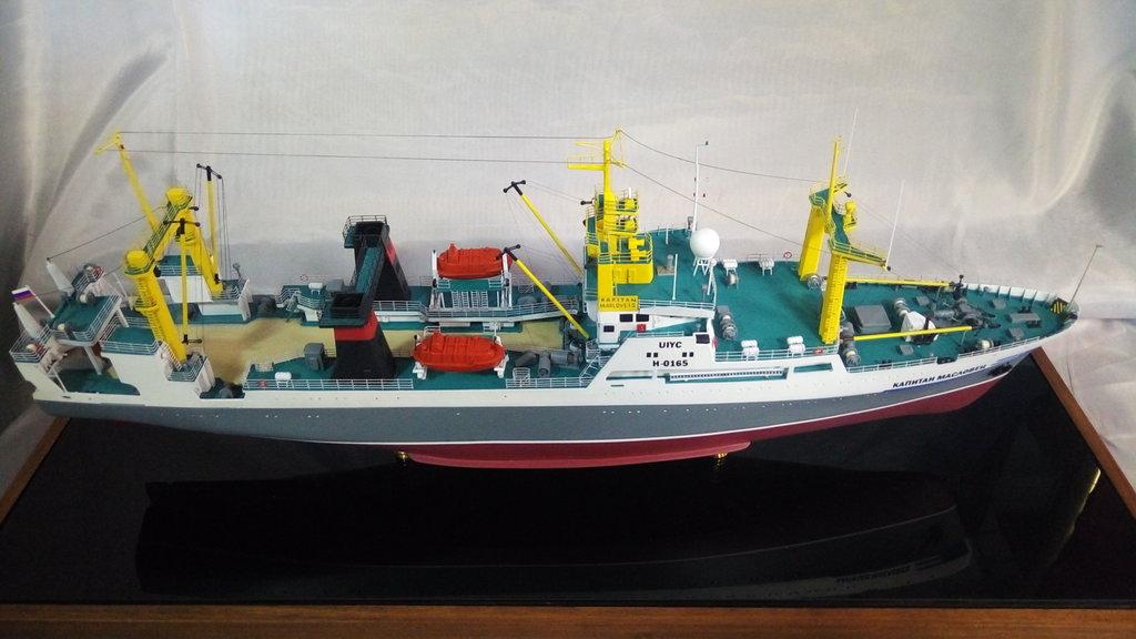 "Модели кораблей: Модель БАТМ проекта 1288 ""Капитан Масловец"" в Модели кораблей"