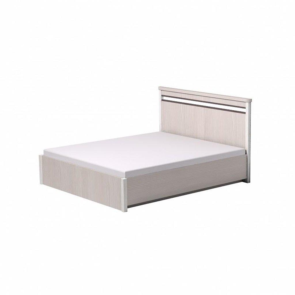 Кровати: Кровать Бриз 31 (1800, орт. осн.  металл) в Стильная мебель