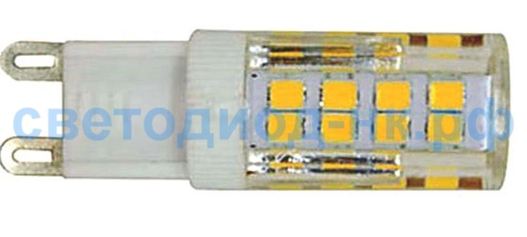 Цоколь G9: Светодиодная лампа LED DIODTRADE G9-PLP 10W 4000K в СВЕТОВОД