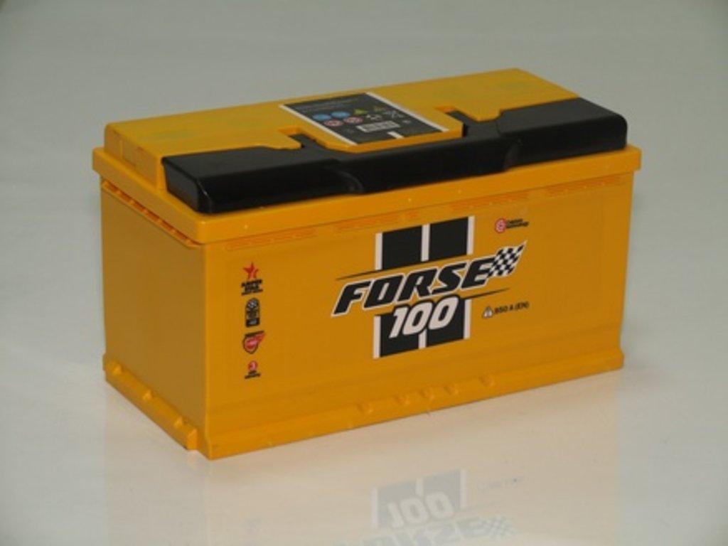Аккумуляторы автомобильные: FORSE 100 А/Ч R в Мир аккумуляторов