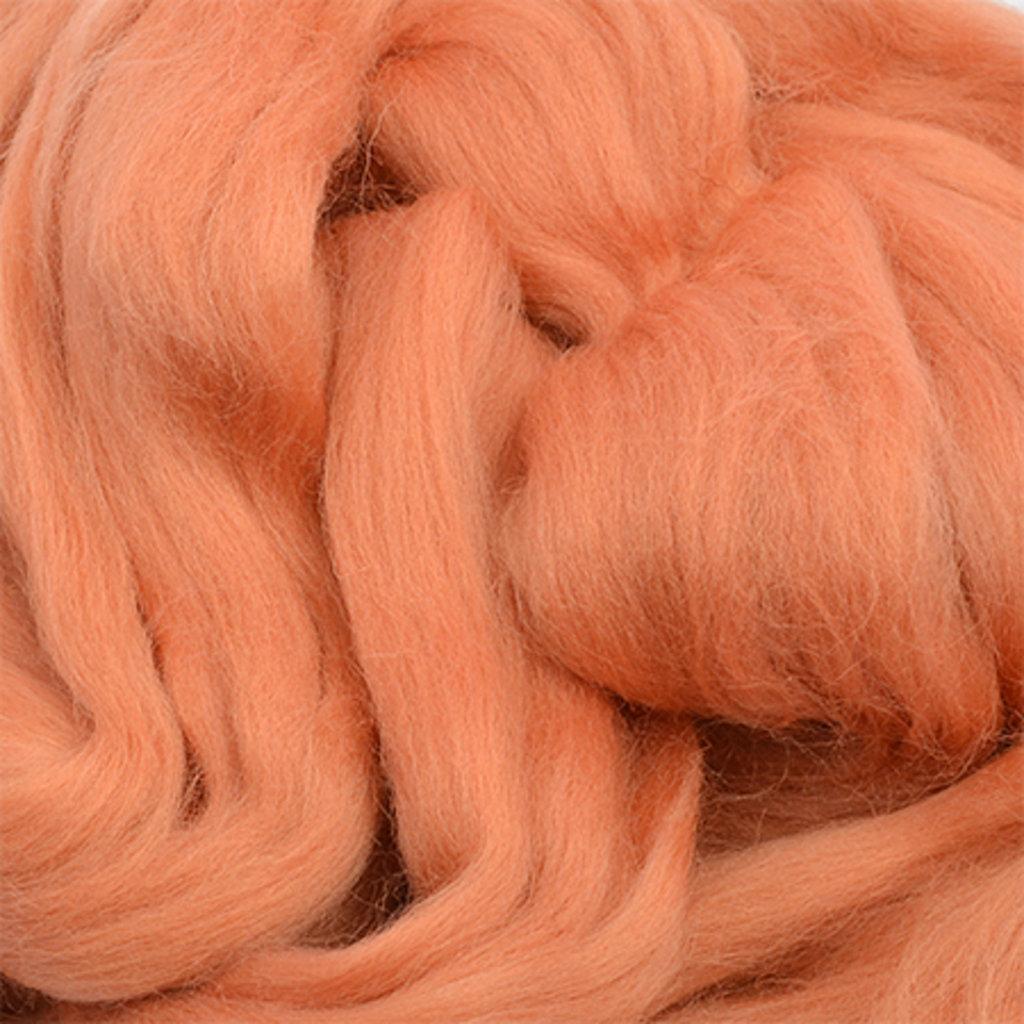 Фелтинг: Шерсть для валяния п/т КАМТ 50г цв.152 темный персик в Шедевр, художественный салон