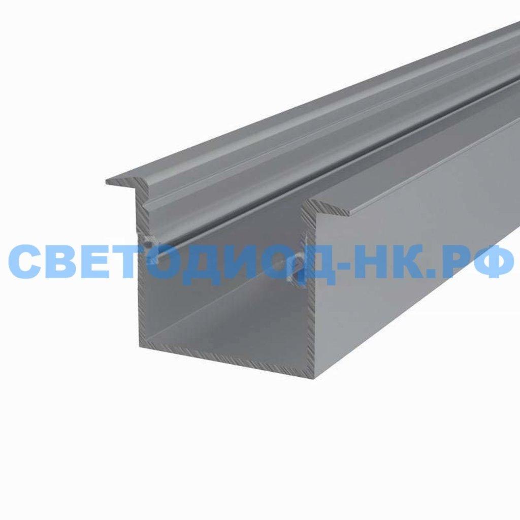 Алюминиевый профиль: Rexant Профиль врезной алюминиевый 3725-2, 2м, 146-223 в СВЕТОВОД