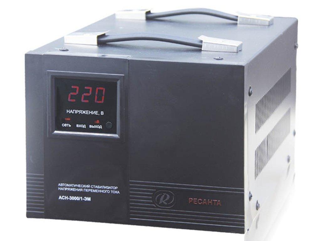 Электромеханического типа: Однофазный стабилизатор электромеханического типа РЕСАНТА АСН-3000/1-ЭМ в РоторСервис, сервисный центр, ИП Ермолаев Д. И.