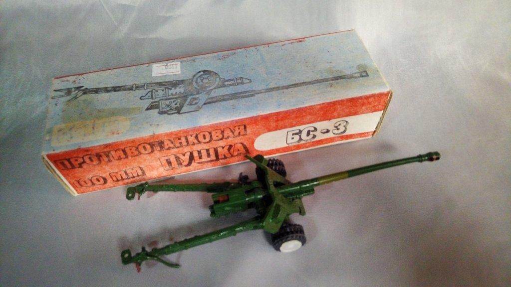 Коллекционные машины  М1:43: Противотанковая 100мм пушка БС-3 в Модели кораблей