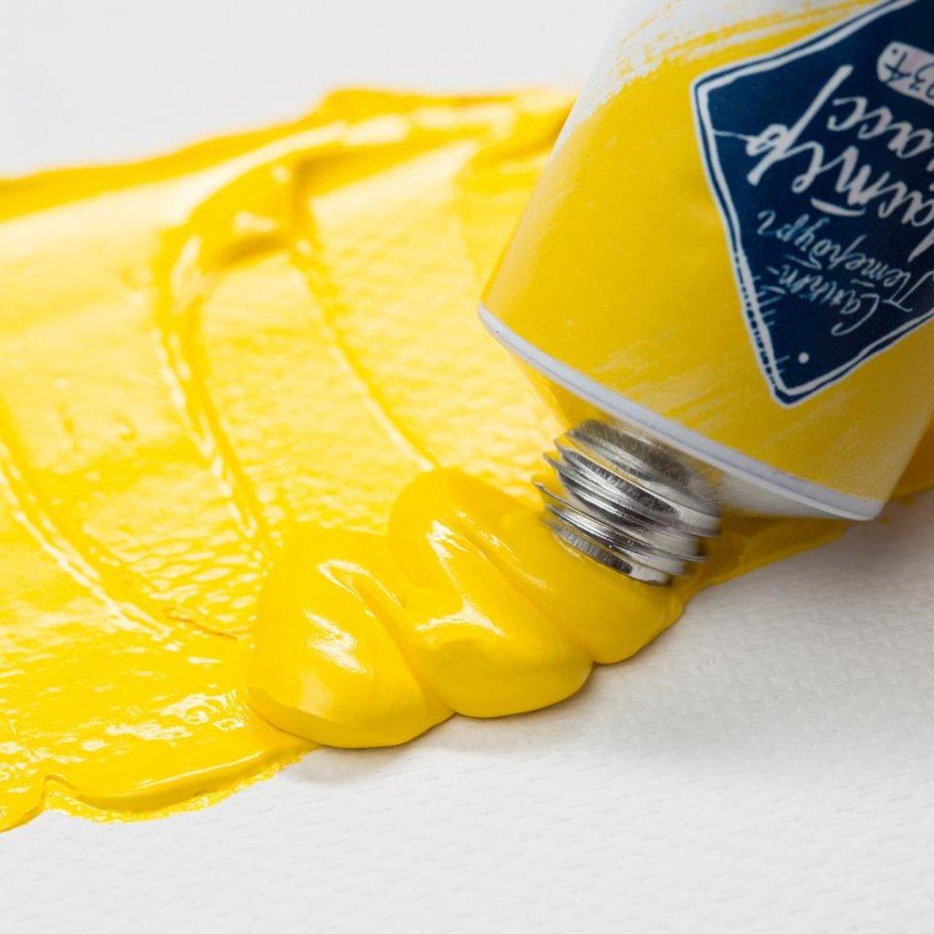 "МАСТЕР-КЛАСС: Краска масляная ""МАСТЕР-КЛАСС"" кадмий желтый светлый  46мл в Шедевр, художественный салон"