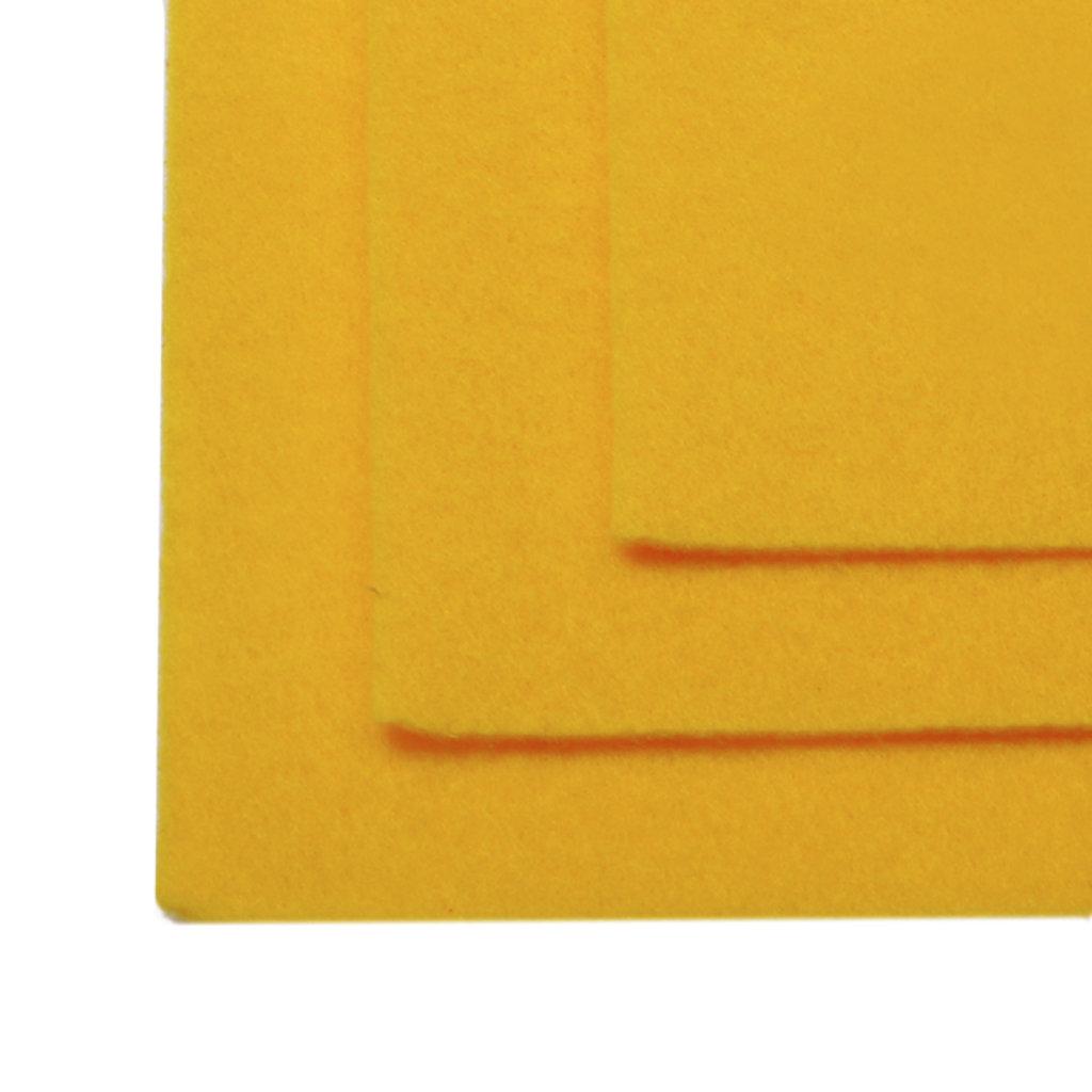 Фетр: IDEAL Фетр жёсткий 1мм 20*30см тёмно-жёлтый 1лист в Шедевр, художественный салон