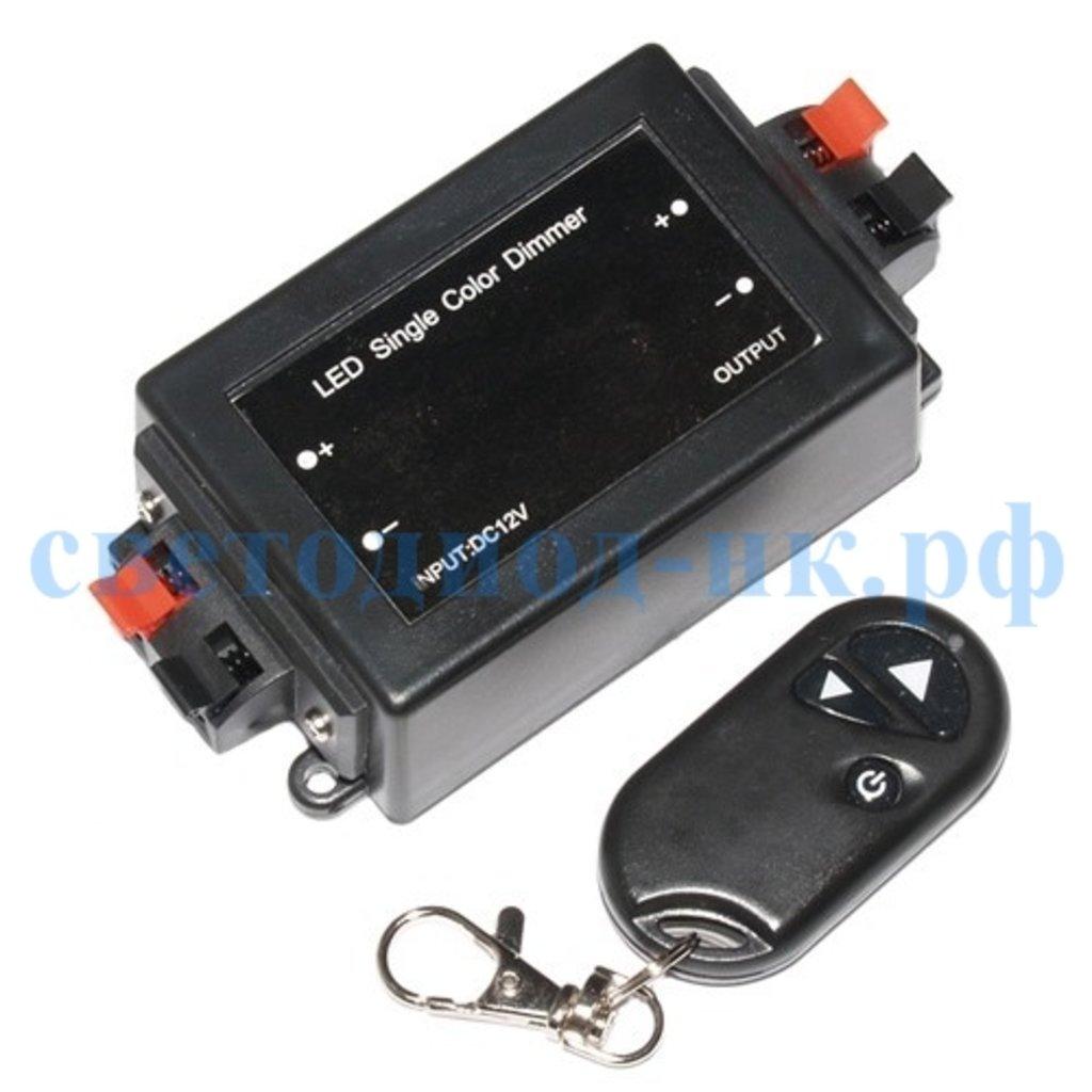 Контроллеры, диммеры: Диммер Ecola  12V 96W 8A (24V 192W) с радиопультом CDM08BESB в СВЕТОВОД