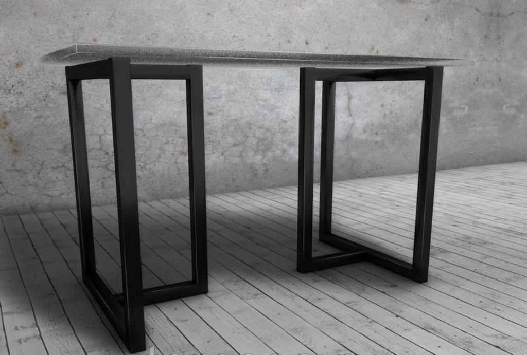 Подстолье, опоры: Подстолье 01 L-7 (чёрный) в АРТ-МЕБЕЛЬ НН