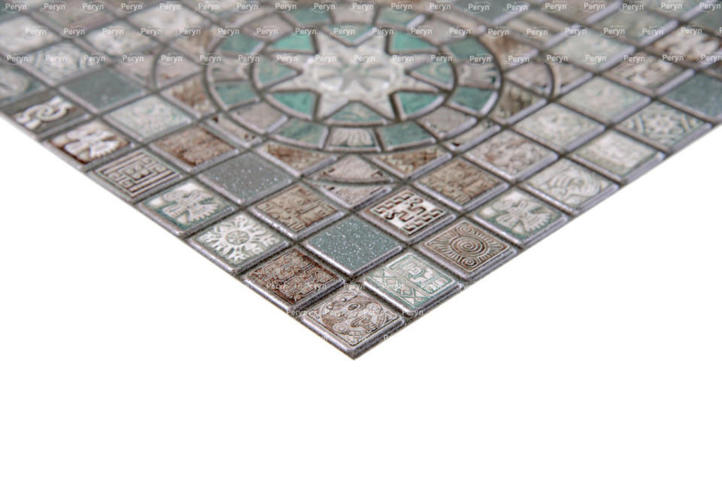 Панели ПВХ: Мозаика Медальон олива в Мир Потолков