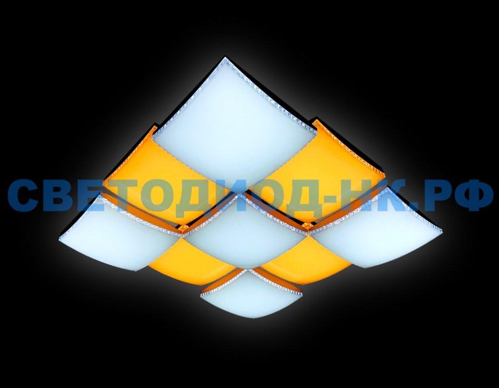 AMBRELLA: СВЕТИЛЬНИК AMBRELLA FP2329 WH 288W D720*720 ORBITAL (ПДУ УЛЬТРА) в СВЕТОВОД