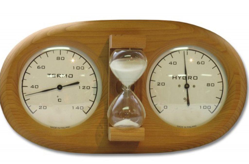 Комплектующие для саун: Термогигрометр Harvia 591 в Пять звезд, ООО