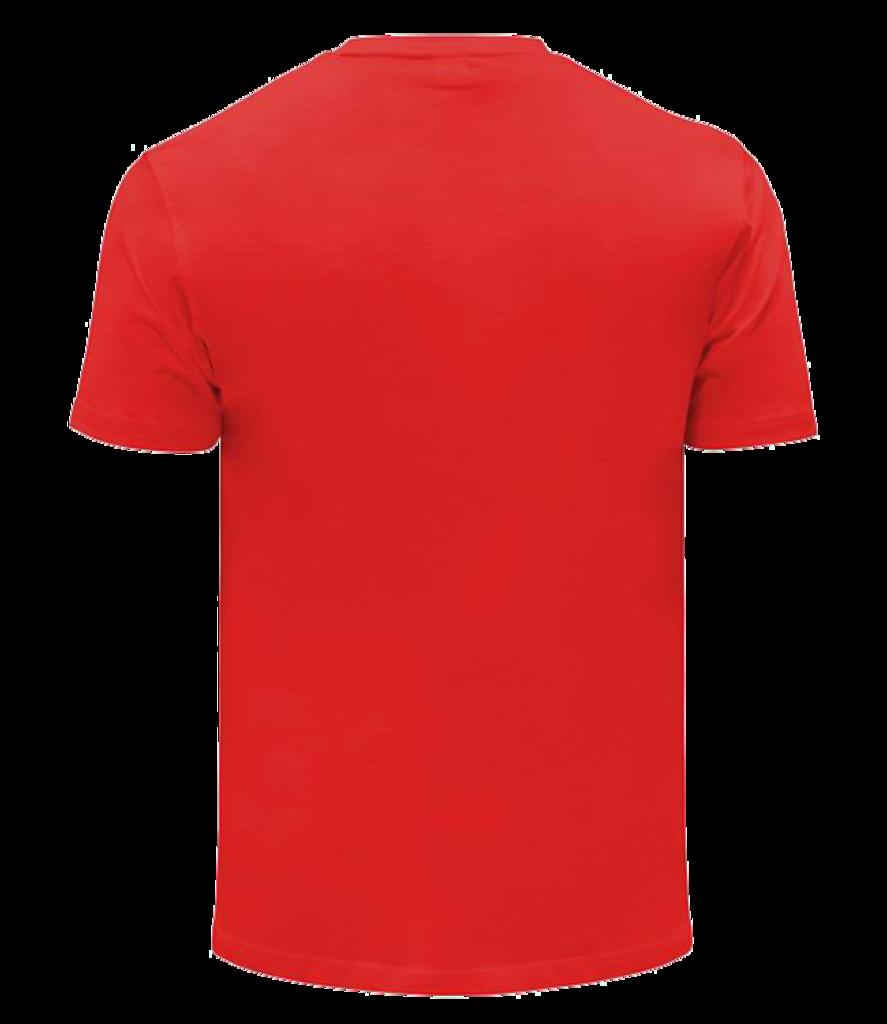 Футболки мужские: Футболка хлопковая унисекс, 180 г/м2 в Баклажан, студия вышивки и дизайна