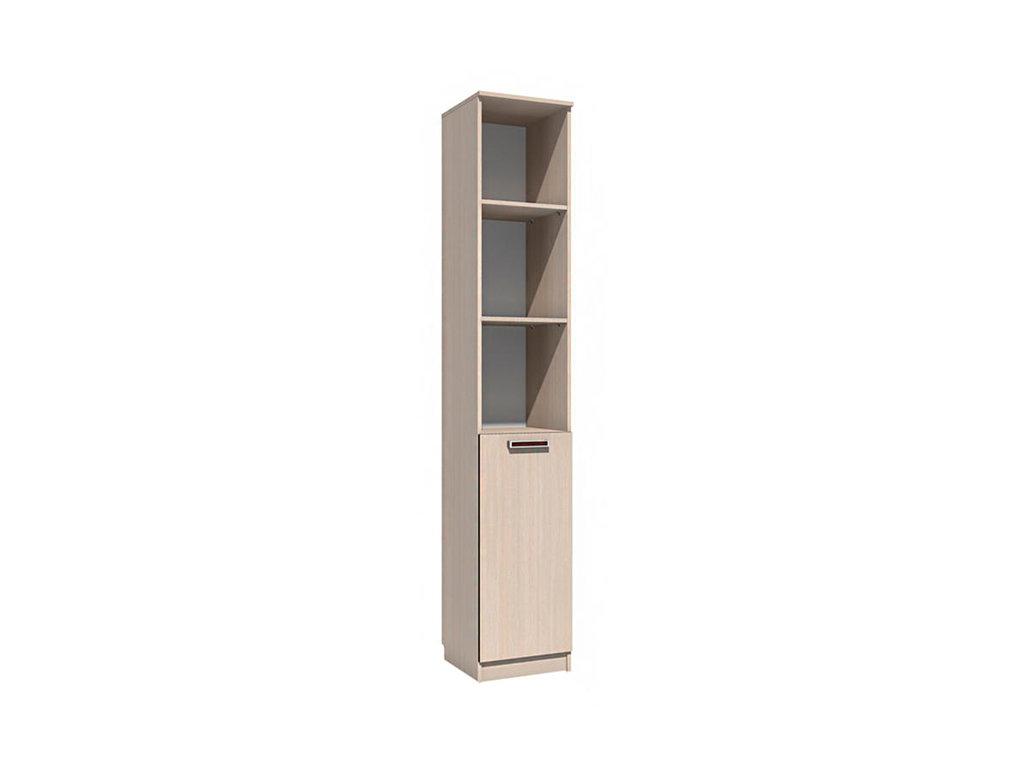 Детские шкафы и стеллажи: Шкаф для книг НМ 013.03-01 Рико в Стильная мебель