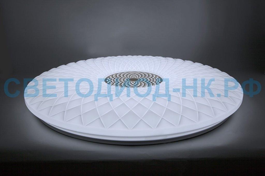 FERON: Светодиодный управляемый светильник накладной Feron AL5250 тарелка 100W 3000К-6500K матовый белый в СВЕТОВОД