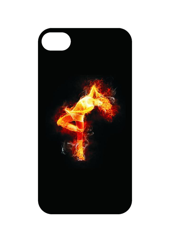 Выбери готовый дизайн для своей модели телефона: FireGirl в NeoPlastic