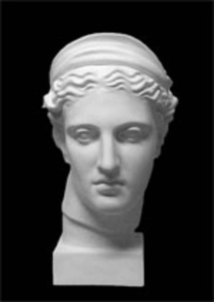Гипсы: Голова Дианы в Шедевр, художественный салон