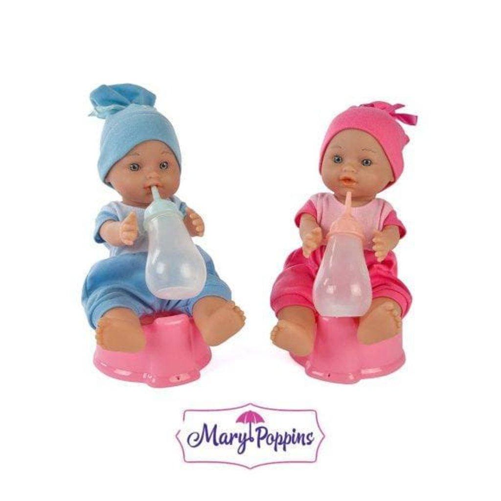 Игрушки для девочек: Пупс функциональный Малышка, пью и писаю Mary Poppins в Игрушки Сити