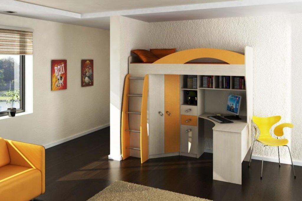 Модульная мебель в детскую Денди: Модульная мебель в детскую Денди в Стильная мебель
