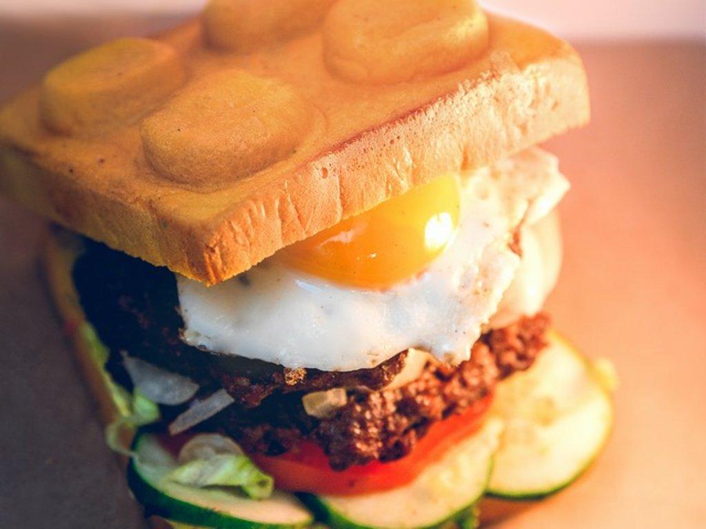 Белая булочка, 85 гр в Leggo burger