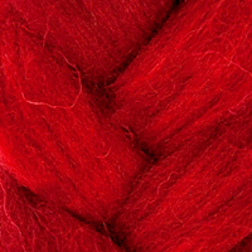 Фелтинг: Шерсть для валяния п/т КАМТ 50г. цв.091 вишня в Шедевр, художественный салон
