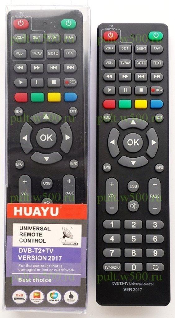 Пульты ДУ: Пульт универсальный для приставок + различные TV в A-Центр Пульты ДУ