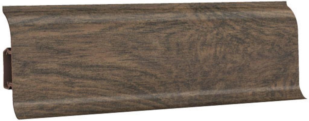Плинтуса напольные: Плинтус напольный 60 ДП МК глянцевый 6014 дуб мокко в Мир Потолков