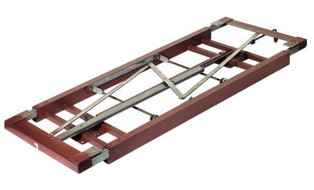 Крепежные изделия, общее: Механизм раздвижного стола с креплением к внутренней стороне царги для вставки в ВДМ, Все для мебели