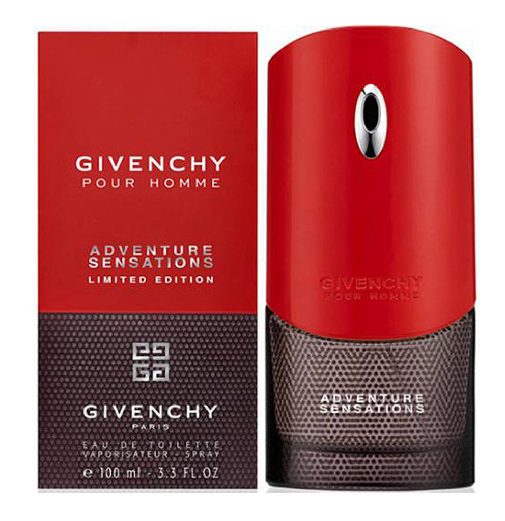 Givenchy: Туалетная вода Givenchy Adventure Sensations Limited edt м 100 ml в Элит-парфюм