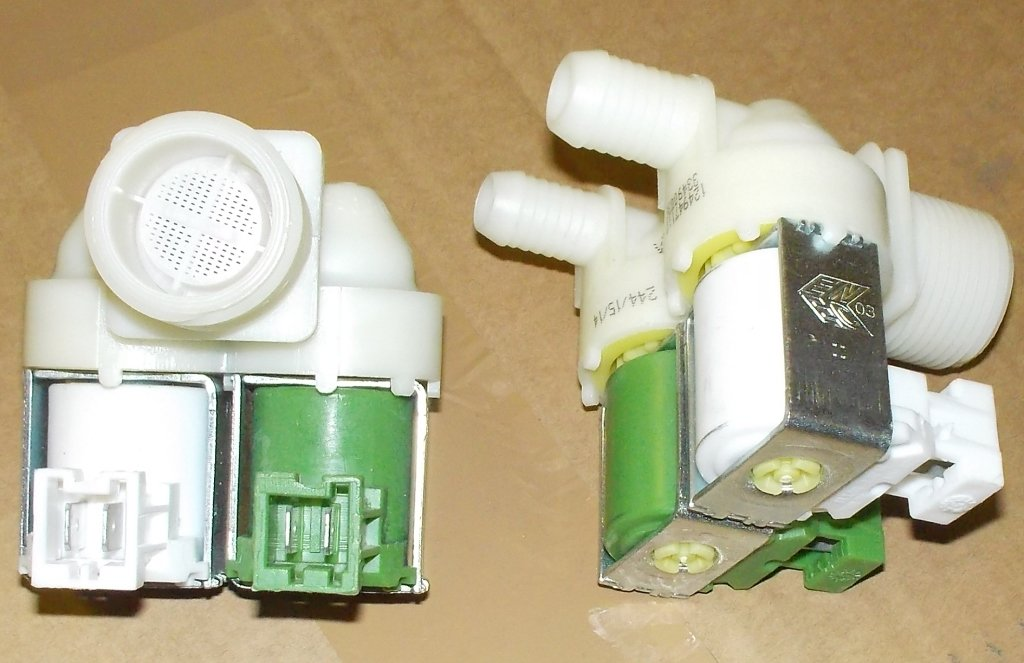 Клапана электрические наливные (КЭН): Электроклапан (клапан наливной электромагнитный - КЭН) 2Wx180 для стиральных машин Electrolux (Элестролюкс), Zanussi (Занусси), AEG (АЕГ) D=12мм/D=14мм - 3792260808, 3792260725, 3792260717 в АНС ПРОЕКТ, ООО, Сервисный центр