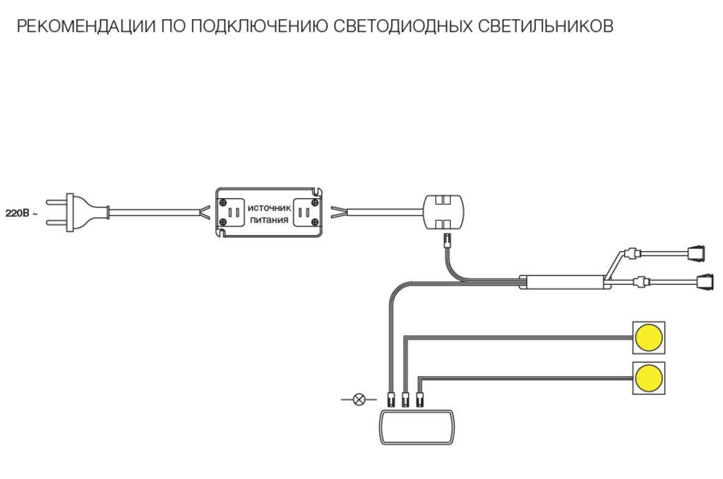 """Мебельная фурнитура """"НОВИНКИ"""": Двухсенсорный IR - датчик открывания фасада врезной, 24W/12V, 40W/24V в МебельСтрой"""