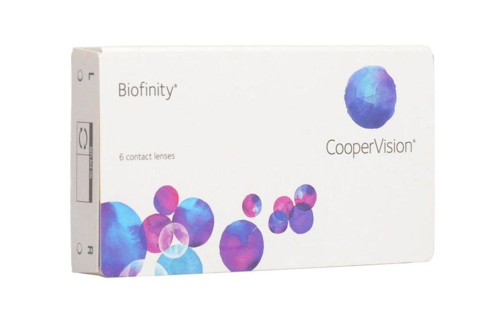 Контактные линзы: Контактные линзы Biofinity (6шт / 8.6) CooperVision в Лорнет