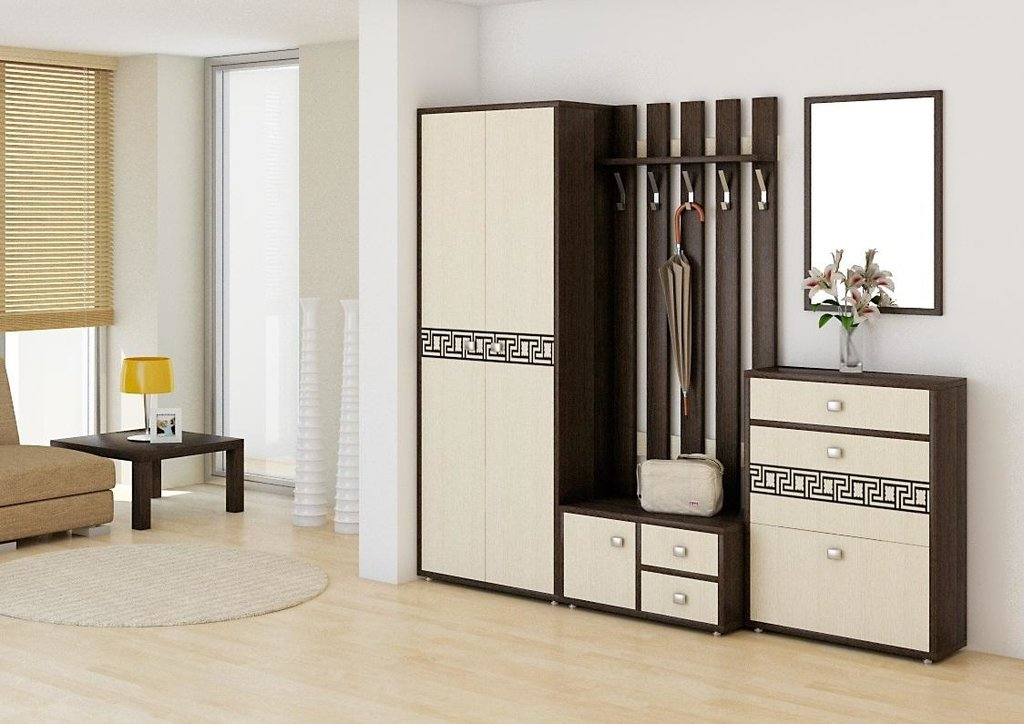 Мебель для прихожей Спарта. Модули: Вешалка Спарта СП-04 в Диван Плюс
